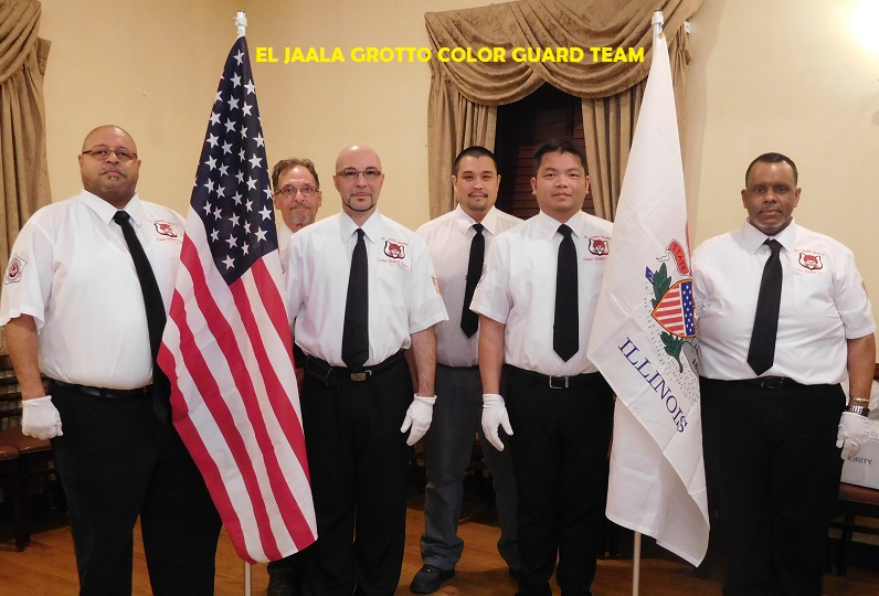 El Jaala Grotto Color Guard
